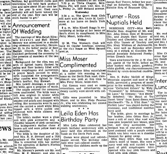 Read descriptions of weddings  to learn what weddings were like at the time.