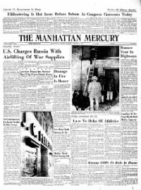 Sample The Manhattan Mercury front page