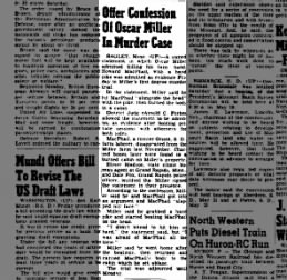 Newspaper The Daily Republic from Mitchell, SD 10 May 1952, Page 1