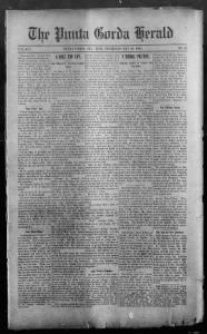 Sample The Punta Gorda Herald front page
