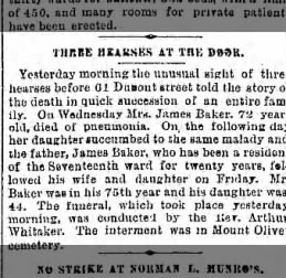 Obituary 20 Dec 1891