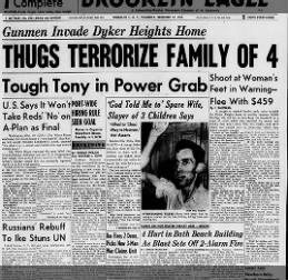 Brooklyn Eagle. 12/10/1953