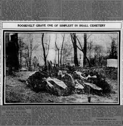 T. Roosevelt's gravesite