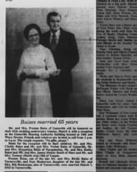 22 Feb 1990_Baizes Married 65 Years