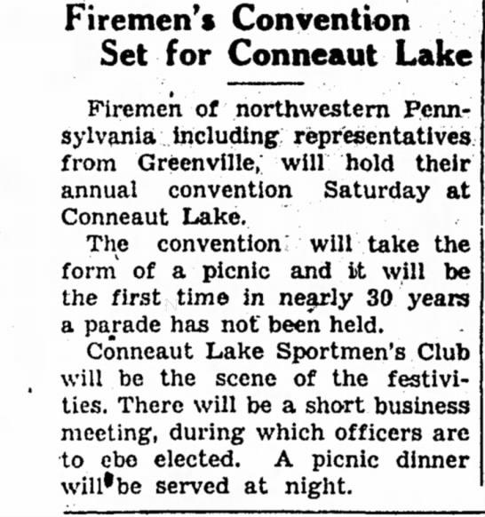 Record Argus 8/22/1957 Convention