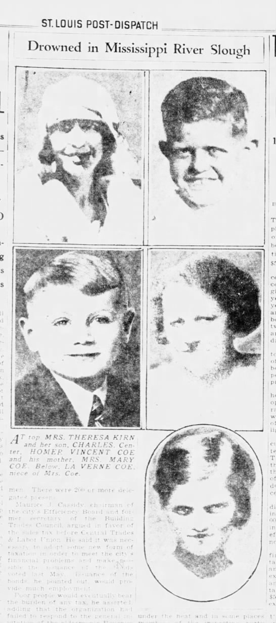 st louis post dispatch (st louis mo) 19 sep 1934 https://www.newspapers.com/image/139520330/?terms=homer%2Bcoe%2Bmissouri