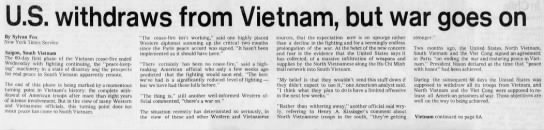 Headlines from March 29 (1973)