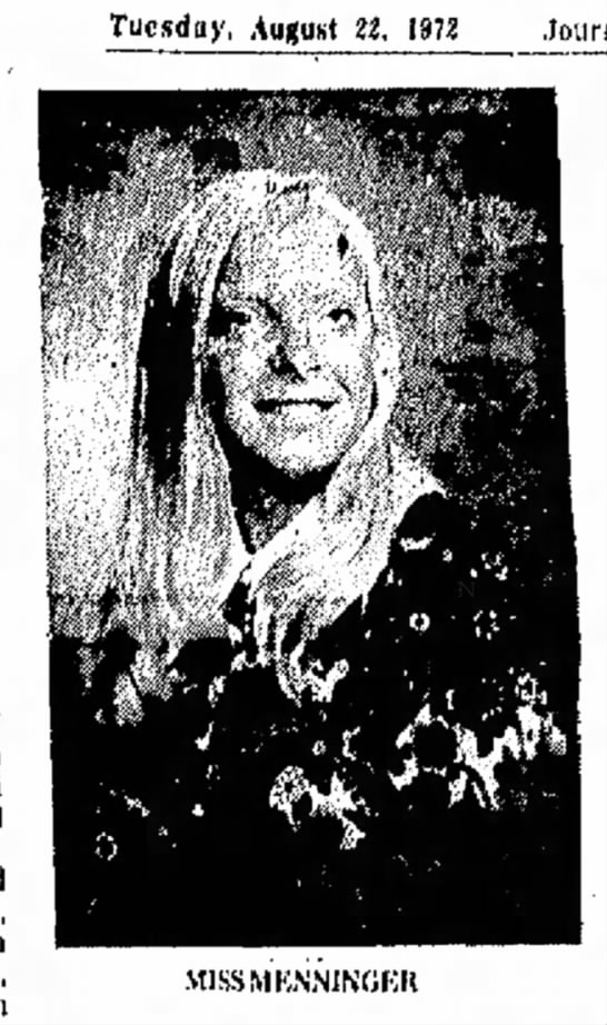 LInda Kay Menninger to wed R. Krause (1972)