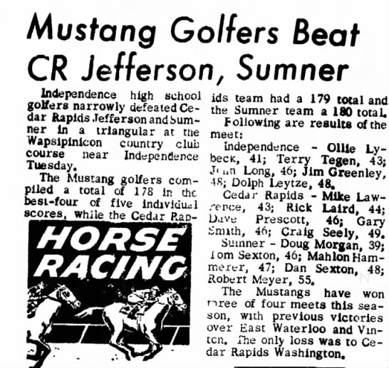 The Independence Iowa Bulletin-Journal May 4, 1962
