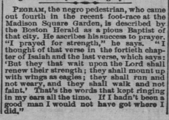Pegram, pedestrian, 1880, Boston