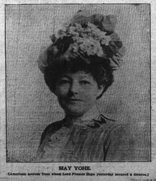 May Yohe pic- The Inter Ocean (Chicago, Illinois- March 22, 1902