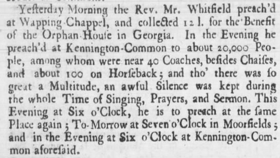 The Virginia Gazette (Williamsburg, Virginia) 27 July 1739, Mon page 4