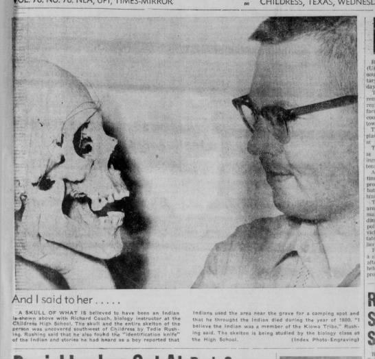 skeleton, Tedie Rushing