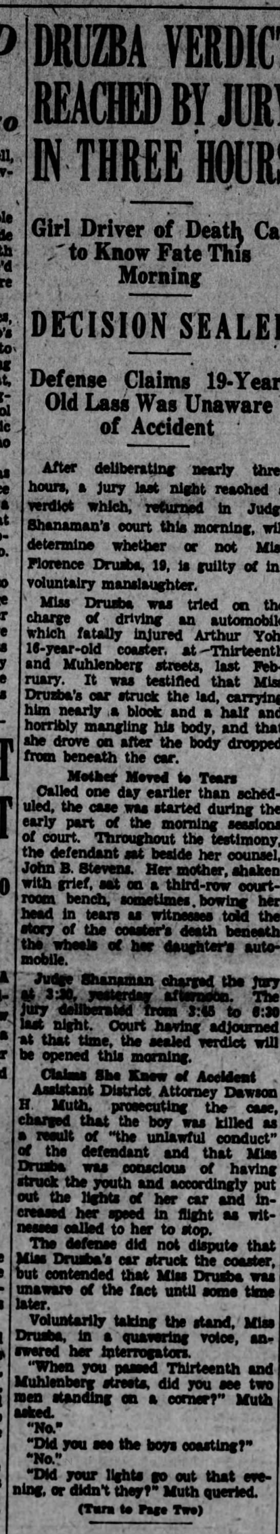 Death of Arthur Yoh