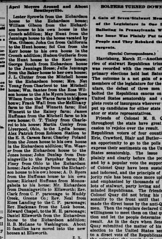 The Daily Republican 27 Mar 1900