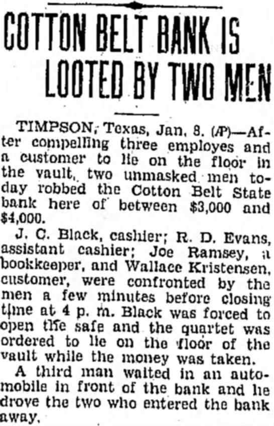 Pampa Morning Post Pampa, Texas-January 9, 1931