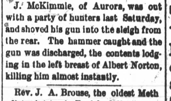 Albert Norton death