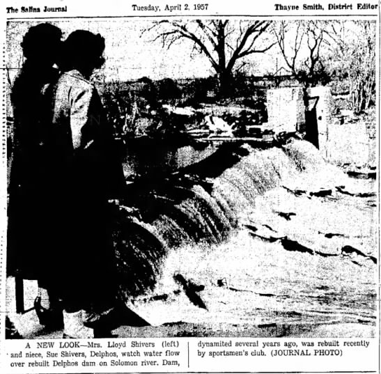 Delphos Dam photo