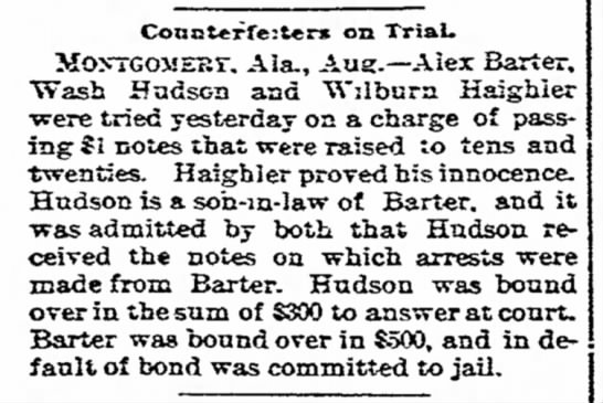 The News, Frederick, MD10 Aug 1894