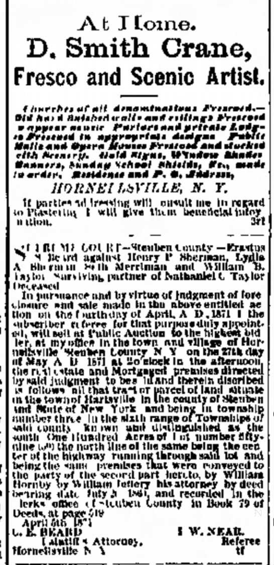 Hornellsville Weekly Tribune