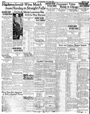 The Rhinelander Daily News from Rhinelander, Wisconsin on February 1, 1935 · Page 6