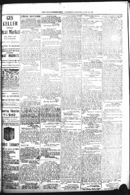 The Daily Deadwood Pioneer-Times from Deadwood, South Dakota on April 26, 1899 · Page 7