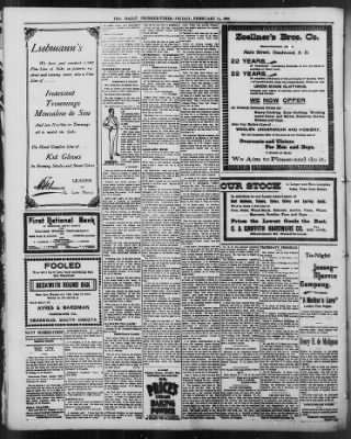 The Daily Deadwood Pioneer-Times from Deadwood, South Dakota on February 11, 1898 · Page 4