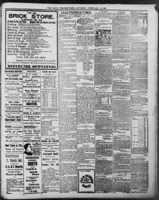 The Daily Deadwood Pioneer-Times from Deadwood, South Dakota on February 12, 1898 · Page 3