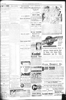 The Daily Deadwood Pioneer-Times from Deadwood, South Dakota on April 15, 1900 · Page 3