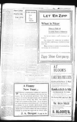 The Daily Deadwood Pioneer-Times from Deadwood, South Dakota on December 26, 1900 · Page 5