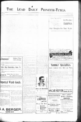 The Lead Daily Pioneer-Times from Lead, South Dakota on June 10, 1900 · Page 7