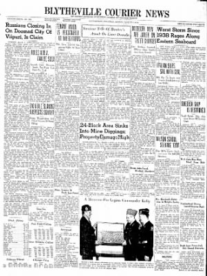 The Courier News from Blytheville, Arkansas on March 4, 1940 · Page 1