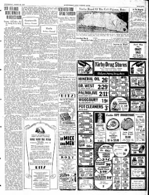 The Courier News from Blytheville, Arkansas on March 20, 1940 · Page 5