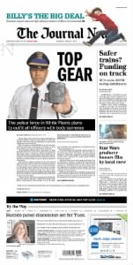 Sample The Journal News front page