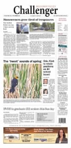 Sample Brandon Valley Challenger front page