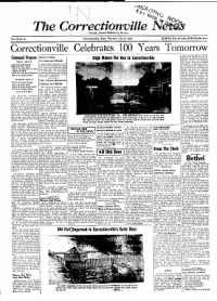 Sample The Correctionville News front page