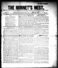 Sample The Hornet's Nest front page