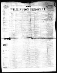 Sample The Wilmington Democrat front page