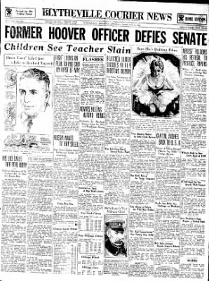 The Courier News from Blytheville, Arkansas on February 3, 1934 · Page 1