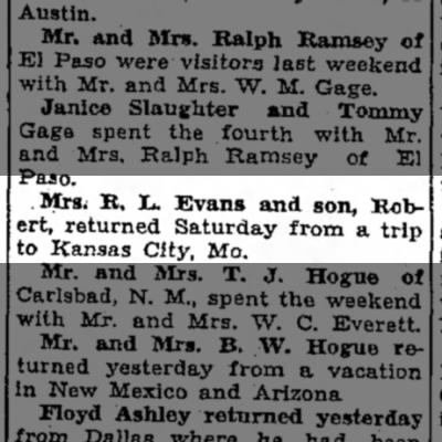 Robert Louis Evans