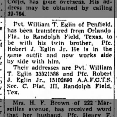 Chronicle Telegram Elyria Ohio 21 Jul 1944