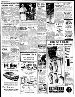 The Courier News from Blytheville, Arkansas on August 7, 1951 · Page 3