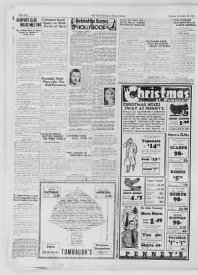 The Daily Clintonian from Clinton, Indiana on December 10, 1936 · Page 4