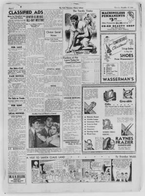 The Daily Clintonian from Clinton, Indiana on December 17, 1936 · Page 8