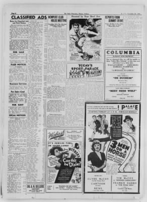 The Daily Clintonian from Clinton, Indiana on December 26, 1936 · Page 6