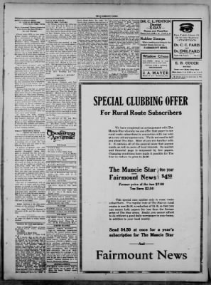The Fairmount News from Fairmount, Indiana on March 20, 1922 · Page 3