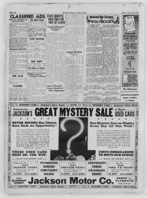 The Daily Clintonian from Clinton, Indiana on January 25, 1937 · Page 6