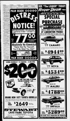 The Palm Beach Post from West Palm Beach, Florida on December 11, 1976 · Page 39
