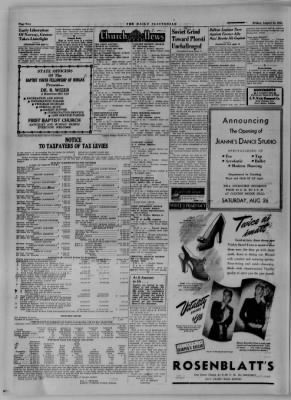 The Daily Clintonian from Clinton, Indiana on August 25, 1944 · Page 2