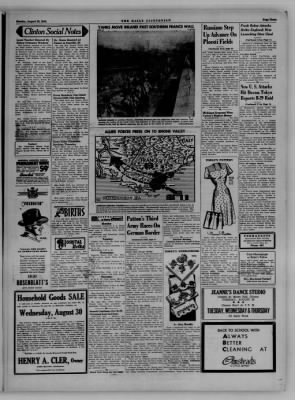 The Daily Clintonian from Clinton, Indiana on August 28, 1944 · Page 3